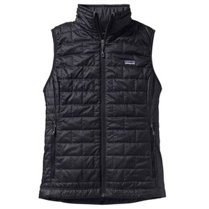 NEW Patagonia Nano Puff Vest Size M Black Womens